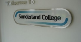 Sunderland College Internal Signage