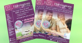 Harringtons Leaflet Campaign