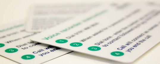 Vocare Plastic Cards