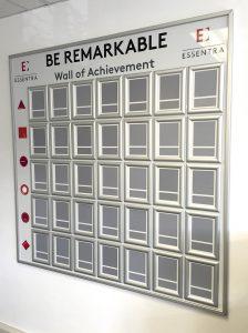 Essentra Achievment Board