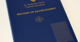 Record of Achievement Folder