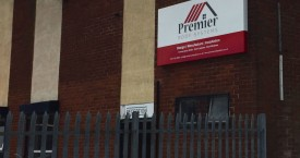 Premier Roof Systems Pan Tray Sign