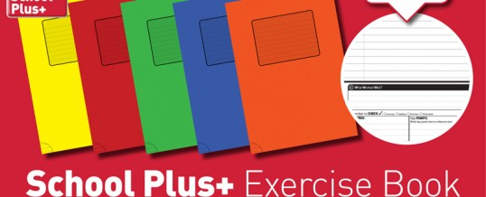 School Plus+ Exercise Books